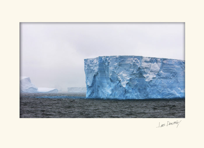 Isberg Antarktis..