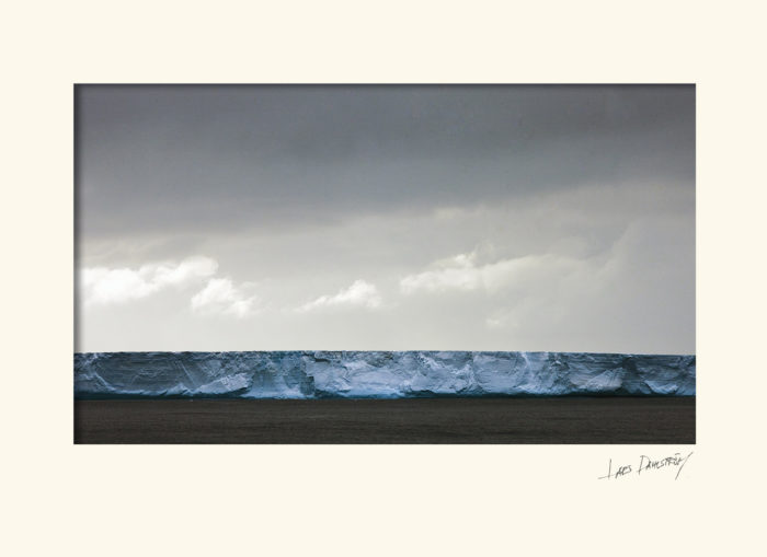 Isberg Syd Atlanten.